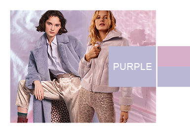 霧色紫丁香--女裝皮衣皮草色彩演變