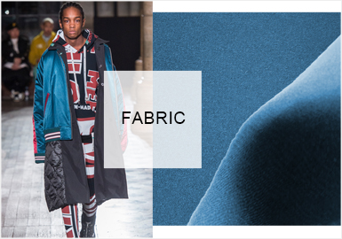 材質魅力--男裝外套面料趨勢