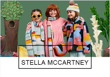 "Stella McCartney 2019秋冬童装,拍摄了三支主题?#36866;?#30340;大片,不开心的鱼先生(The Unhappy Fish)、垃圾虫(The Litter Bug)和孤独的树先生(The Lonely Tree ),?#28304;?#21628;吁大家共同保护?#35272;?#30340;地球。为此Stella McCartney 还签署了 Ellen MacCarthur 基金发起的 ""新塑料全球?#20449;?#20070;"",并?#20449;迪?#38500;塑料废物和污染,无论是大海还是森林,都应?#24125;?#20445;护,以维持生态的平衡。"