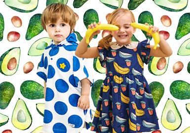 小波點與夏日水果--2020春夏嬰幼童主題企劃