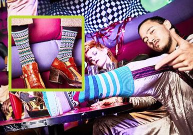 復古潮襪--男/女裝服飾品襪類企劃