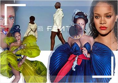 蕾哈娜唐朝造型登封面,個人奢侈時尚品牌「FENTY」5月也正式上線!