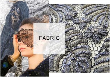 針刺紋縷 | 法式優雅--女裝毛衫蕾絲趨勢預測