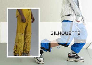 街潮新勢力--男裝褲裝廓形趨勢
