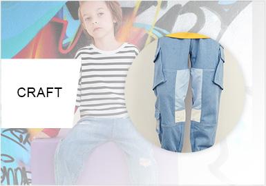 细节重塑与时代衍变--男童牛仔裤工艺趋势
