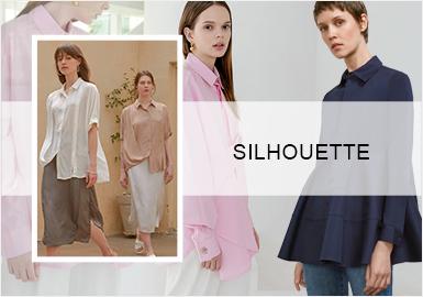 现代简约--女装衬衫廓形趋势