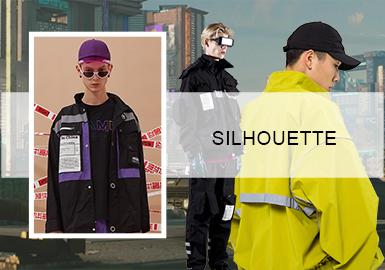 国货潮变--男装机能夹克廓形趋势