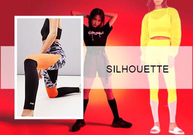 街装美学--女士运动裤廓形趋势