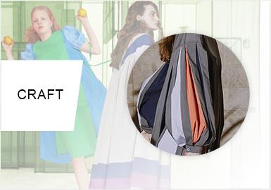 构图效应--女装连衣?#20849;?#21098;工艺趋势
