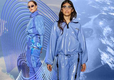 地表藍--女裝主題色彩趨勢