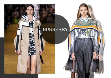 Burberry从维多利亚时代启程,2020春夏时装秀上Burberry以「Evolution 进化宣言」演绎摩登时代的更迭。镜面立方体装置在开场后不断上升,呈现出复古观感的音响组合,交织过去与未来;陈坤、周冬雨、黄旭熙等明星阵容的加入,让2020SS Burberry更具有话题性。