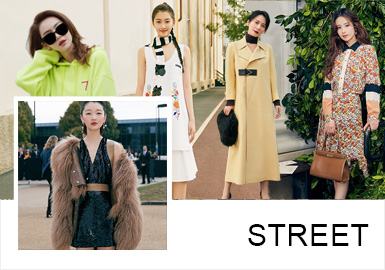 復古與未來的話題是時尚圈一直探討的趨勢方向,在2020春夏秀場中明星穿搭更注重實用與細節的搭配,以延續經典,創新重組的方式演時尚。經典黑白搭配,復古氣質的奶奶衫,土酷風下的浪漫碎花裙重回時尚圈;氣質時髦的風衣,oversize廓形更拉風;百搭工裝褲,怎么穿怎么酷;新審美之下的功能外套,聚焦腰部細節的搭配方式,都在詮釋不一樣的時尚;新生代小花陳鈺琪帶著千面造型驚艷亮相時裝周。