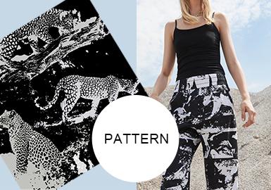 虎豹,野性的不二诠释--女装图案趋势