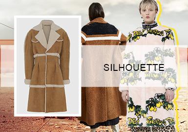 优雅无界--女装皮草大衣廓形趋势