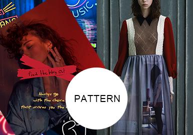 女性题材摄影与时装--女装图案趋势