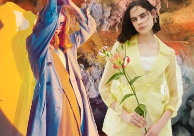 自然合成--女裝主題色彩趨勢