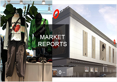 2019秋冬广州批发市场主要集中在UUS和红棉批发市场,整体男装以时尚机能、少量的户外机能、运动休闲以及工装风格为主。在工艺方面也是依旧以拼接设计为主,单品方面以卫衣、裤装以及运动风夹克为主。
