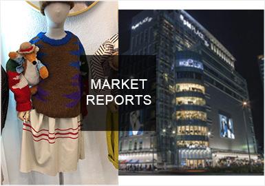 本月的韓國市調以韓國現代百貨、林蔭道、樂天、新世界等重點商圈與批發款式為主。相較與九月,運動休閑、學院風、日韓風格依舊是市場的主要風格,代表品牌有Moncler、Ralph Lauren、NEW BALANCE、ETTOI、Organic mom等。
