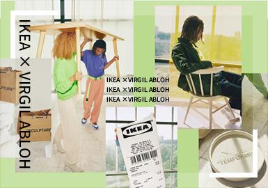 "IKEA × Virgil Abloh - 宜家家居變""型""記!"