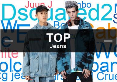 第三季度牛仔品牌热搜榜--男装TOP10