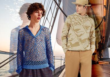 都會領航--男裝毛衫主題色彩趨勢