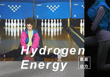 氢能动力--女装主题色彩趋势验证