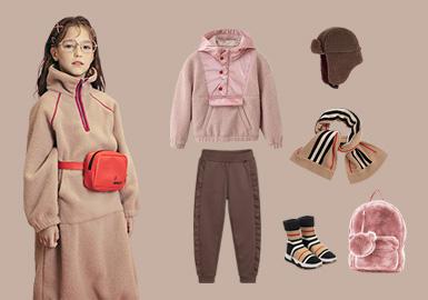 實用主義--女童衛衣組貨搭配