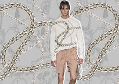 """""""链""""出态度--男装图案趋势"""