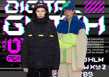 2019秋冬夾克單品以溫暖的顆粒絨單品成為潮流主角,絨絨的質感,在寒冷冬季十分保暖。而隨著運動風的不斷升溫,軍事工裝以及戶外運動單品依舊受到熱捧。經典的運動夾克和套頭夾克可以作為百搭的內搭單品穿著,增加搭配的層次感。