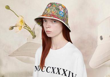 优雅诞生--女士渔夫帽工艺趋势