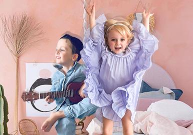 一场有想法的睡衣派对--童装家居服廓形趋势