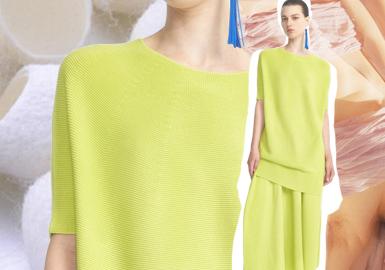 温暖情绪--女装毛衫工艺趋势(针法)