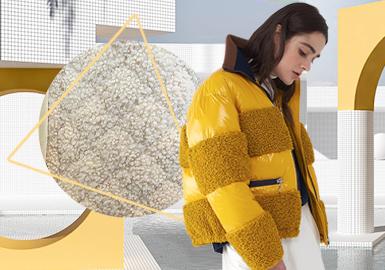 拼接致勝--女裝顆粒絨工藝趨勢