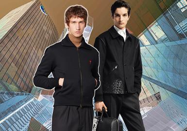 时尚绅士--男装夹克廓形趋势