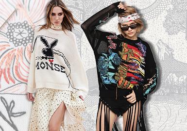 织言线语--女装毛衫工艺趋势