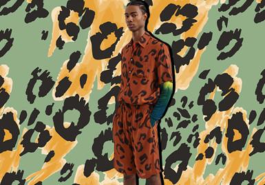 豹纹新潮--男装图案趋势