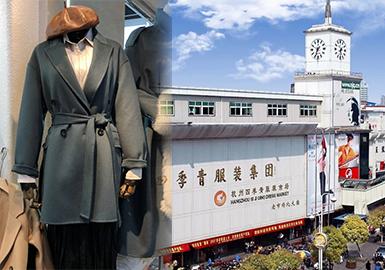 杭州四季青服装市场作为中国最具影响力的服装一级批发市场和流通市场,其货品辐射江浙沪以及部分北方市场,本次市场分析报告将分析19秋冬季最后一波款式状况,以及对未来将会在市场流行的款式风格进行分析;本次杭州市场中以中少淑风格为主,复古元素的应用变得更加常见;另POP将在一月份持续跟进早春款式,尽请期待。