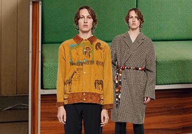 """成立于2016年的来自于美国纽约的时装品牌Bode当属反对""""过剩生产""""的环保主义者,设计师Emily Bode主张可持续时尚的发展理念,其设计最大特点就是废衣物料、旧物面料的有效再利用,将旧衣物通过手工工艺施以刺绣补丁、衍缝拼接重制成每一季的成衣。这种将复古纺织品重新用于新设计的方法,除了创作出令人兴奋的作品,还形成了 Bode 独特的怀旧美学。"""