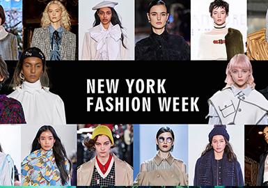 纽约时装周(NewYorkFashionWeek)是在美国纽约市举办的面向时尚买手、新闻媒体以及公众的国际时装周。今年2月份 纽约时装周已经落下帷幕,与往届的NYFW相比,显然这一季的纽约时装周要显得落寞了些。包括Ralph Lauren、Tommy Hilfiger、Calvin Klein在内的不少品牌都相继退出了本季纽约时装周的日程。由于受到疫情影响,中国媒体、买手、明星们被迫改变了工作计划,尽管动荡不少,但回顾这一季的纽约2020秋冬时装周,还是有很多精彩亮点。