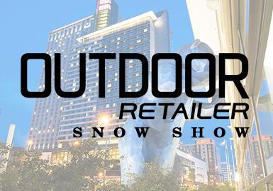 丹佛Outdoor Retailer展会是北美最大的户外用品展。本次展会旨在鼓励人们探索户外,推进先进环保理念,倡导可持续发展的行业趋势。生物面料、可循环环保服装、舒适且智能的设计成为众多品牌的侧重点,融合街头潮流的服饰风格也吸引了更多时尚消费者。此外,健康型产品也在展会亮相,包括机械按摩仪、CBD产品、瑜伽轮等运动、放松两用型产品。