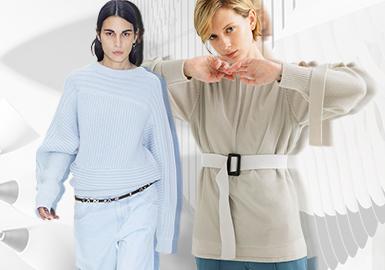 袖型塑造 | 適度空間 --女裝毛衫工藝細節趨勢