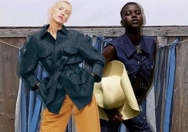 颠覆常规--女装牛仔外套廓形趋势