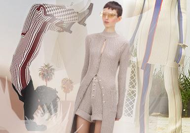 精致套裝的回溯--女裝毛衫廓形趨勢