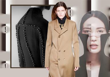 極簡主義--女裝大衣裁剪工藝趨勢