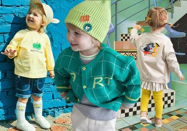 Alfonso、Allo&lugh、milkmile、moimoln和Pimpollo几个韩国婴幼童品牌在2020SS,各具亮点。其中Pimpollo活泼的夏日黄、Alfonso的糖果粉、趣味的手绘、时尚的文字&几何构成、时尚的条纹搭配别出心裁带来浓重夏日时尚感受。