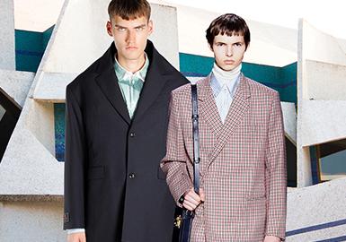 量感建筑美學--男裝西裝廓形趨勢