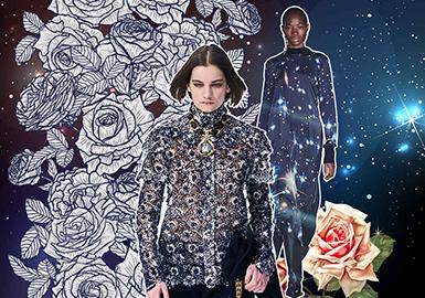 新视界十大主题花型-女装图案趋势