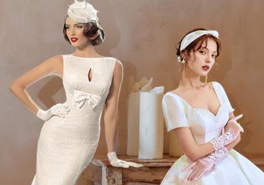 那個年代的浪漫故事--女裝婚紗工藝趨勢