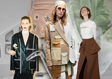 行走的百寶箱(口袋)--女裝工藝細節趨勢