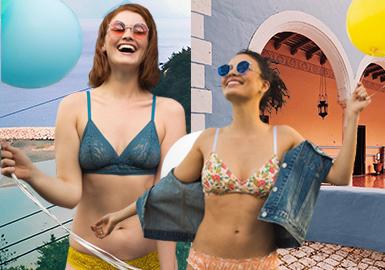 随着包容性的概念不断延伸,需要为女性的人生各个阶段提供支持。Princesse tam.tam和Maison Lejaby通过轻盈、舒适、透气性的品质升级内衣,设计出适合女性各个阶段的内衣款式,强调以自由的思想唤醒每一个创意设计,其设计让女性充分表达自己独特个性,并且投入自己的生活。为女性的解放和对自由的追求提供支持。